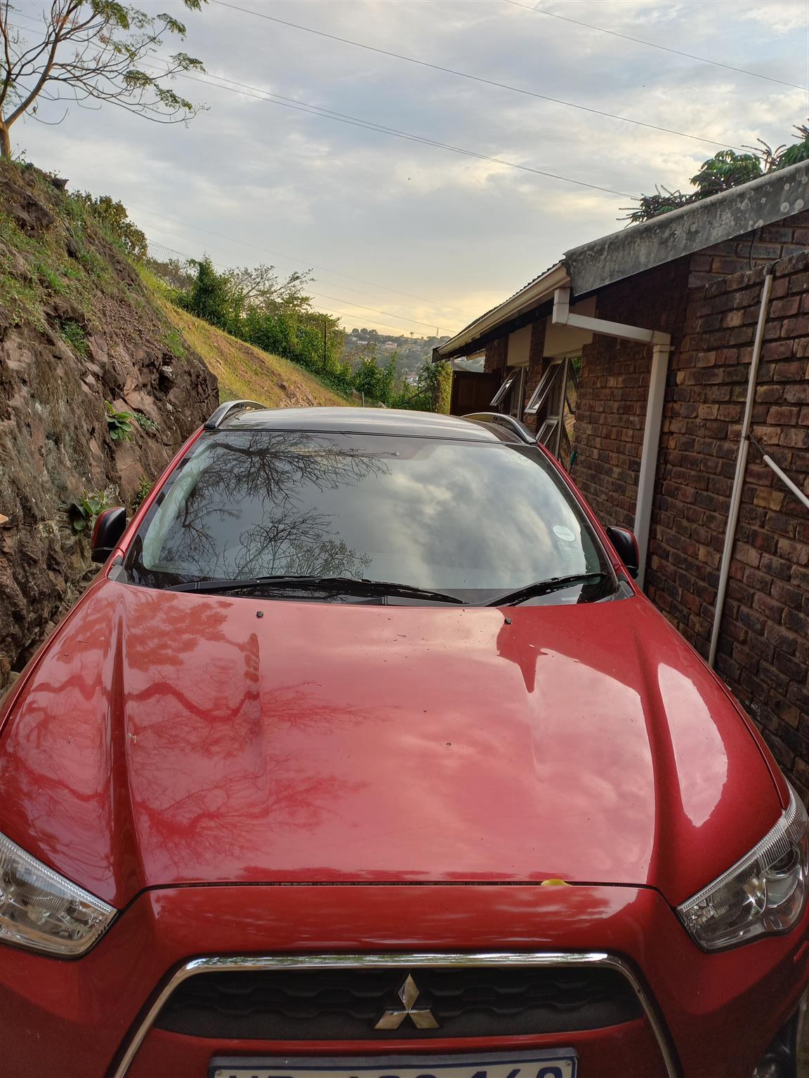 2015 Model Red Mitsubishi Asx 2.0 in Pinetown Durban