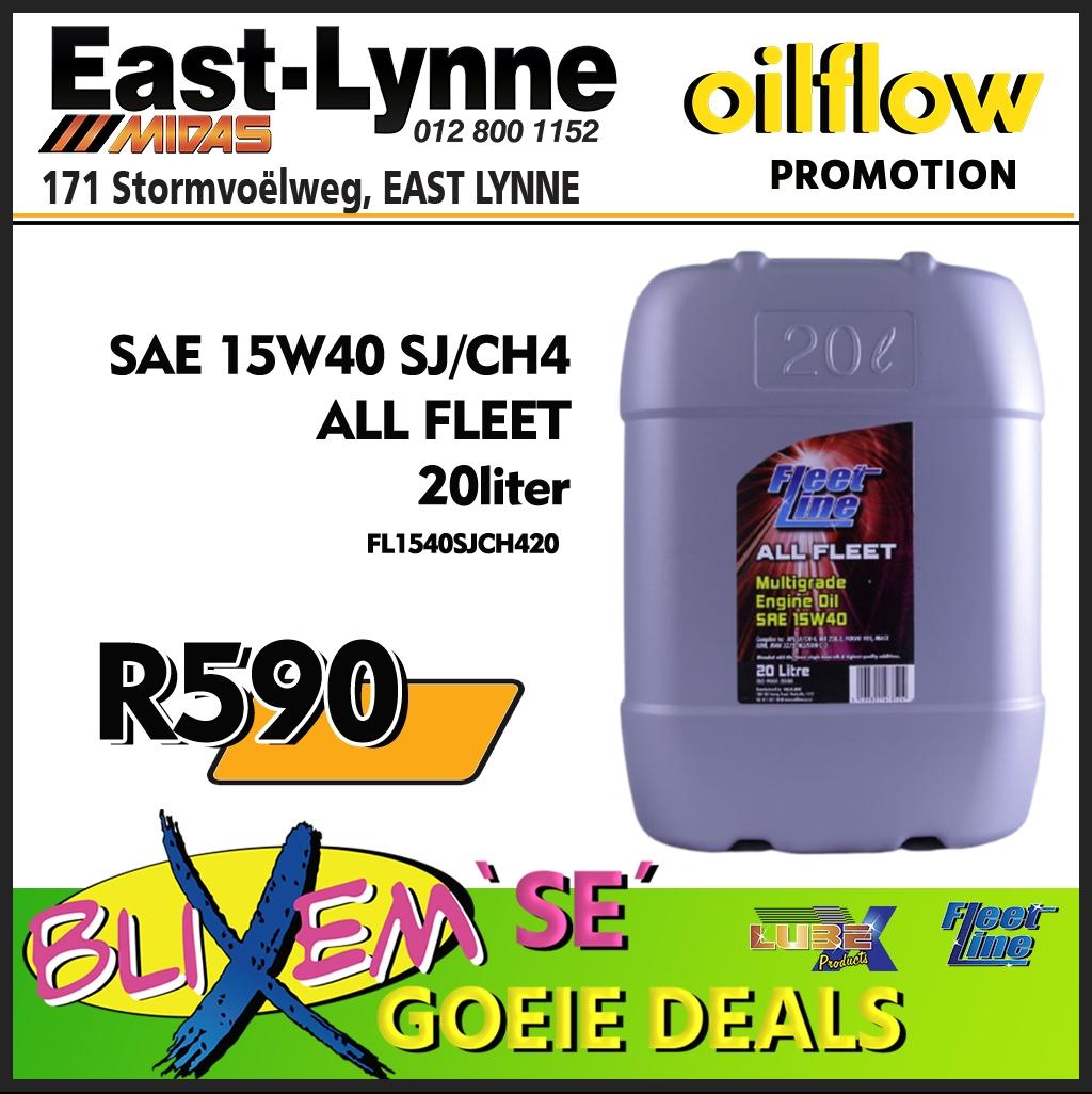 Fleet Line All Fleet Engine Oil Only R590