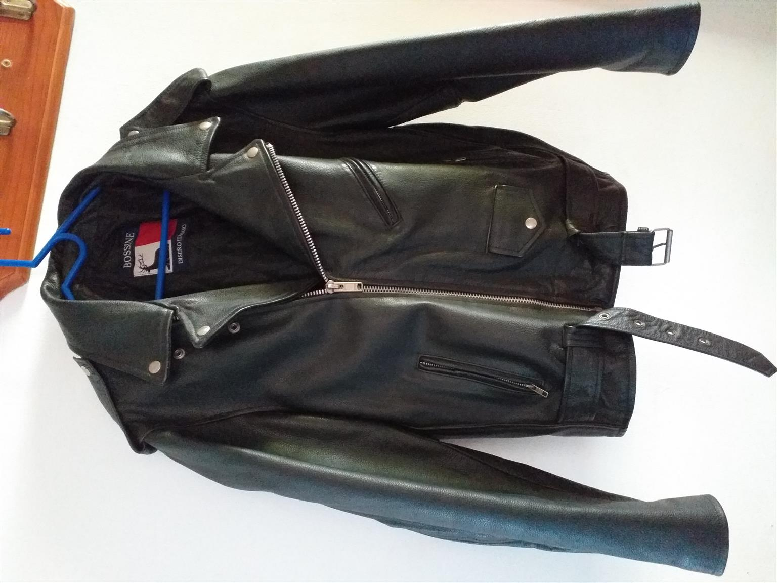 Italian Leather bikers jacket