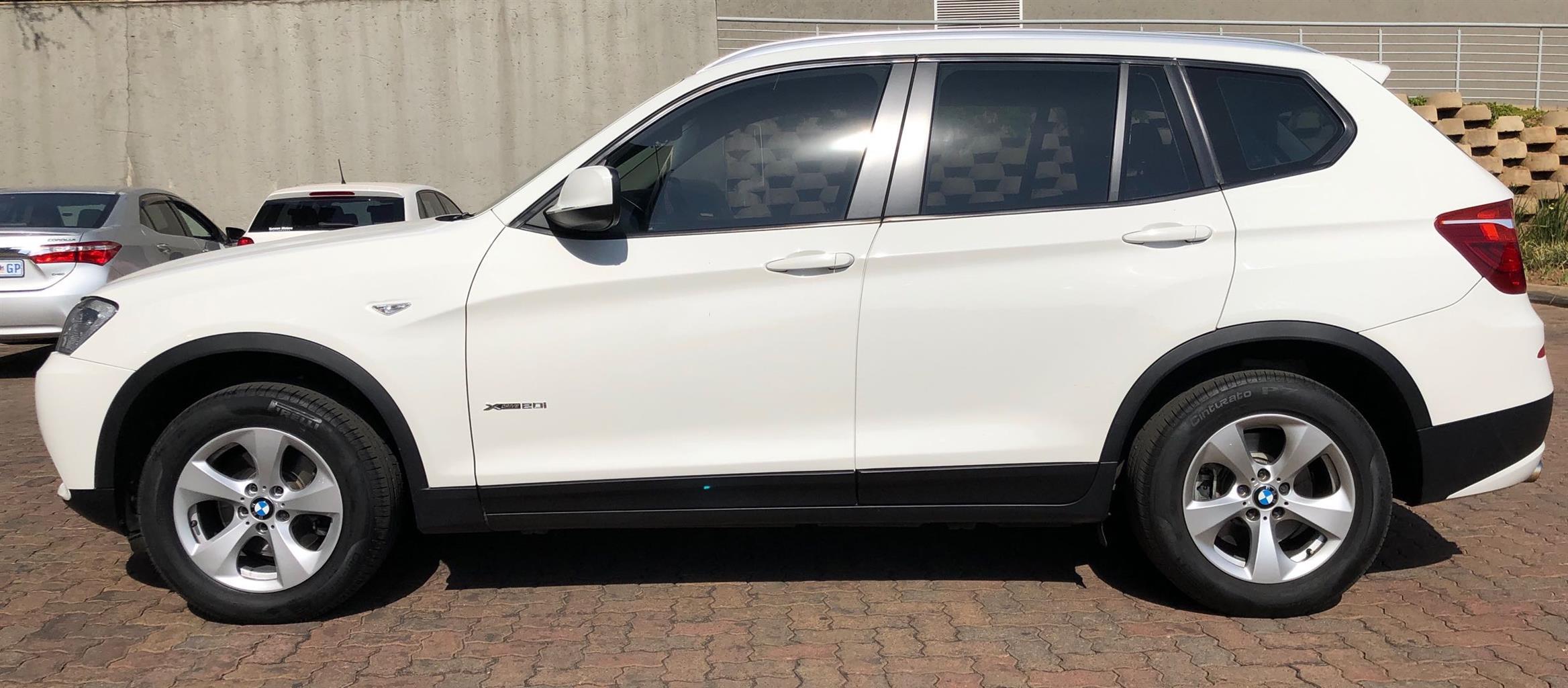2015 BMW X3 xDRIVE 20i (G01)