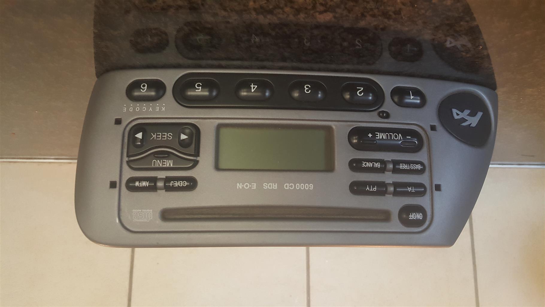 Ford Ka radio