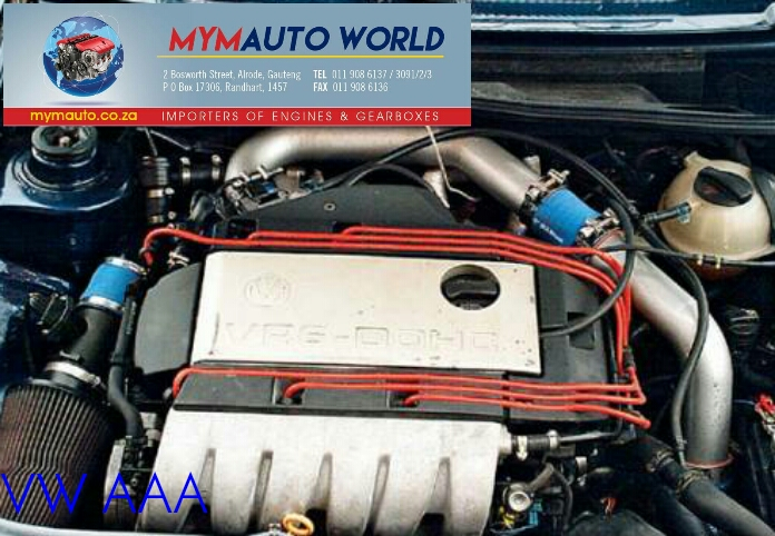 VW GOLF/PASSAT 2.8 6CYL VR6 AAA engine