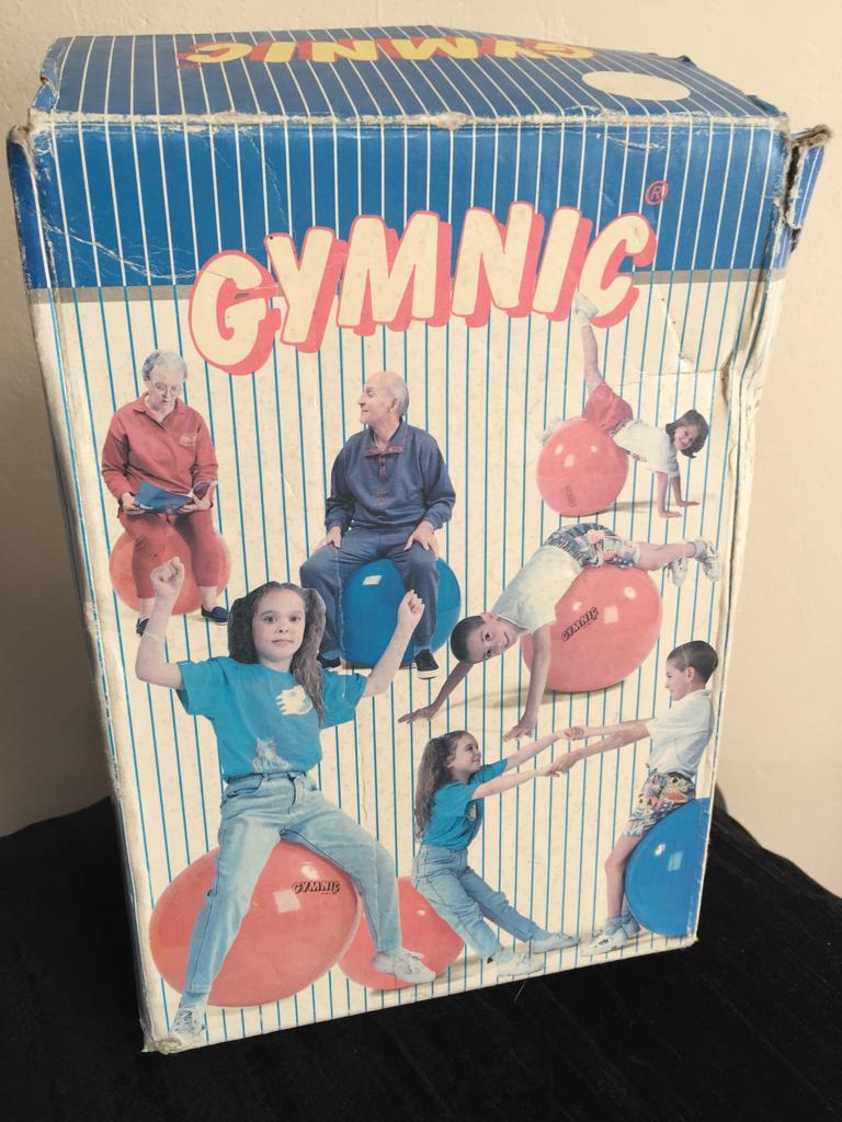 Gymnic and Mobilo 45cm and 55cm Anti-burst exercise/yoga balls-price per ball