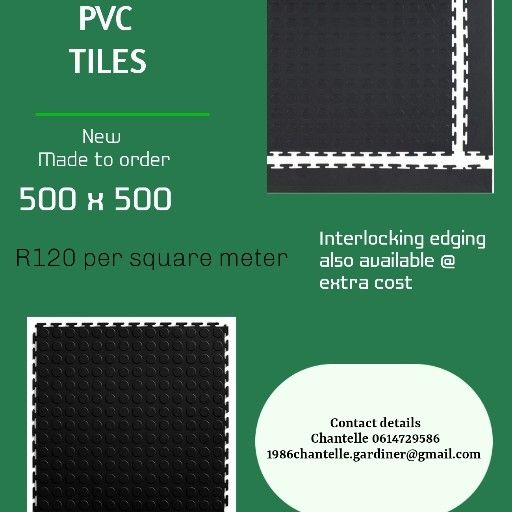 PVC Interlocking Tiles