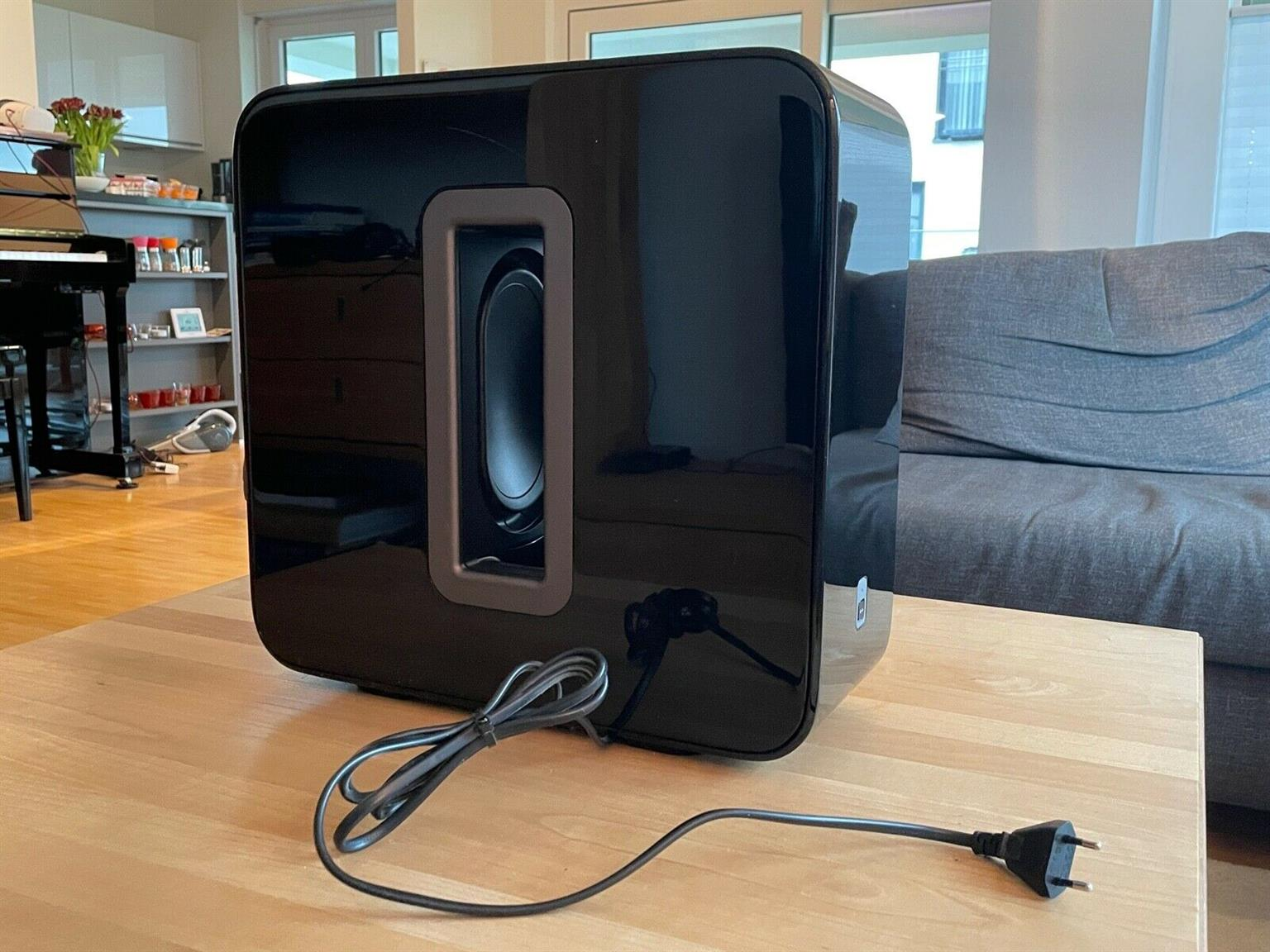Sonos Sub - WiFi subwoofer for deep bass.
