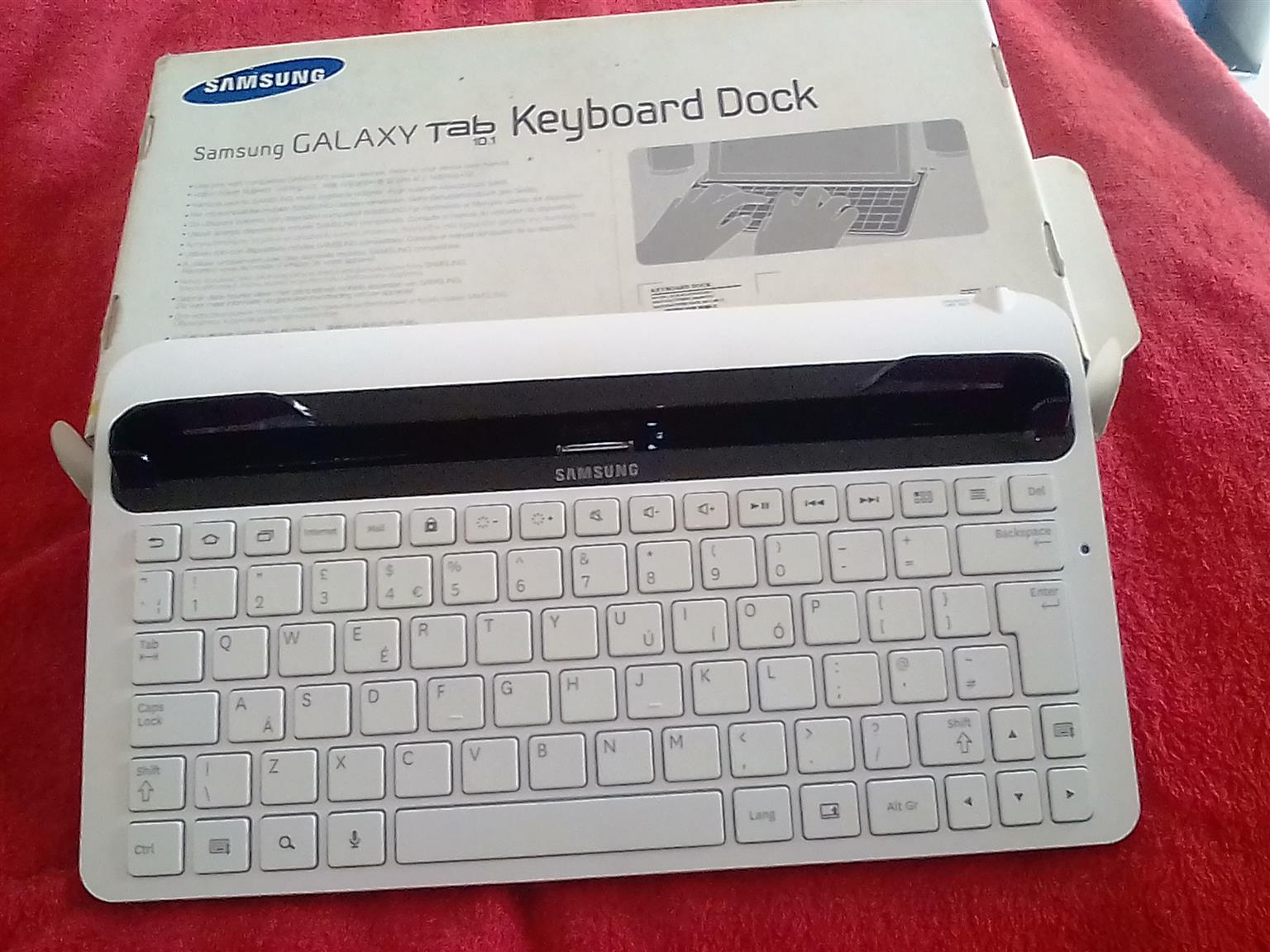Samsung Galaxy 10.1 keybboard dock.