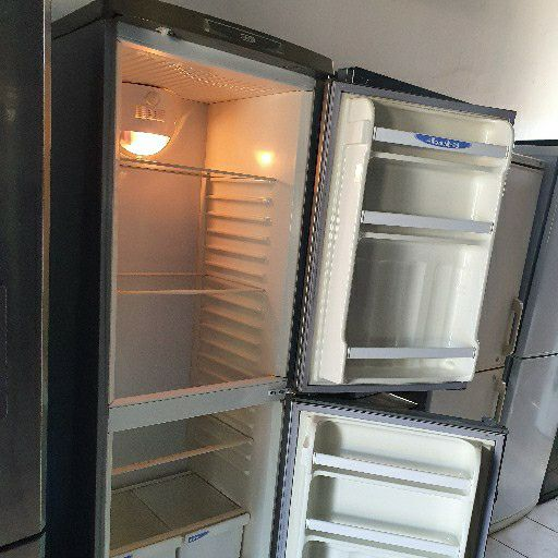 Defy metallic silver all fridge