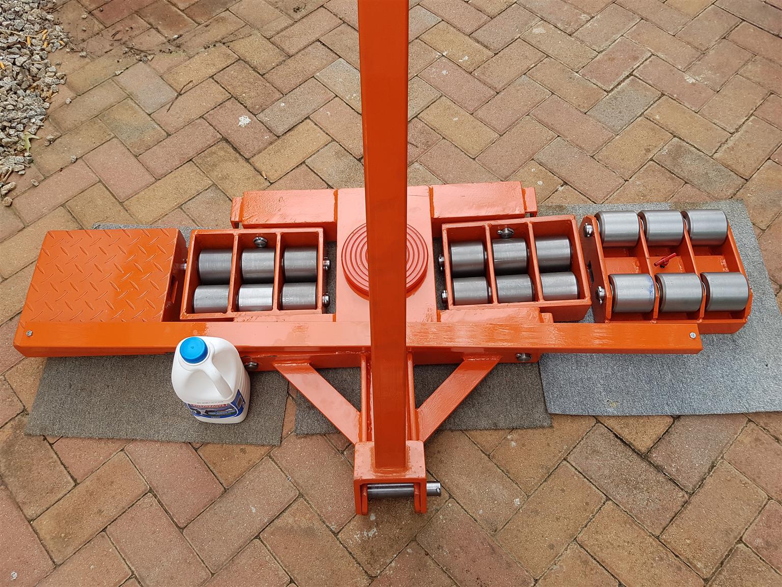 24 tone 24 wheel  rigging steering set trolleys