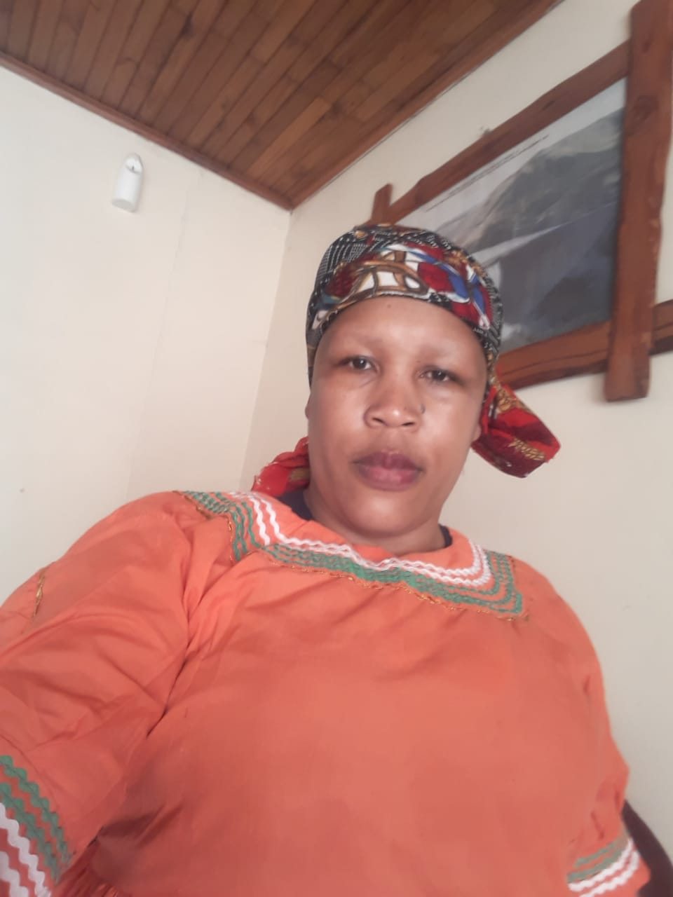 Lesotho maid/nanny with refs needs work.
