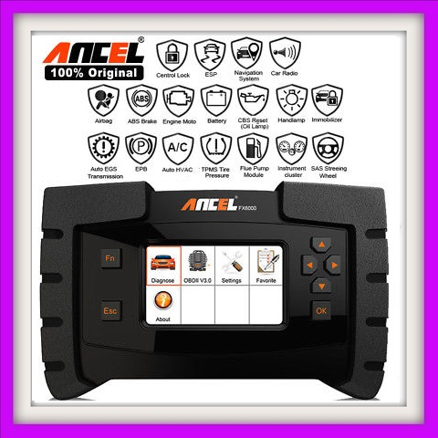 Auto code reader scanner: Ancel FX6000 OBD2 Diagnostic Tool All System ODB2 NOW IN STOCK!!