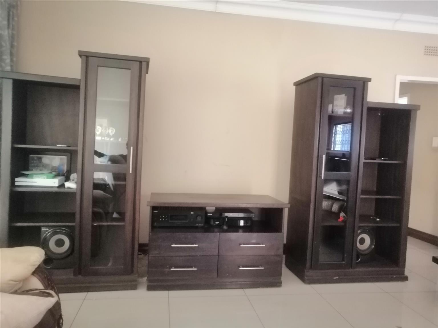 4 piece TV unit