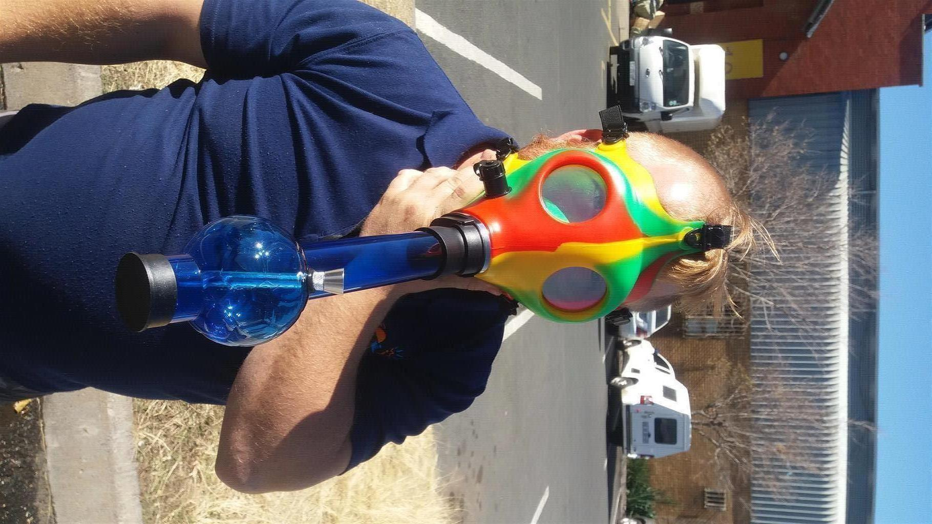 Comical gas masks
