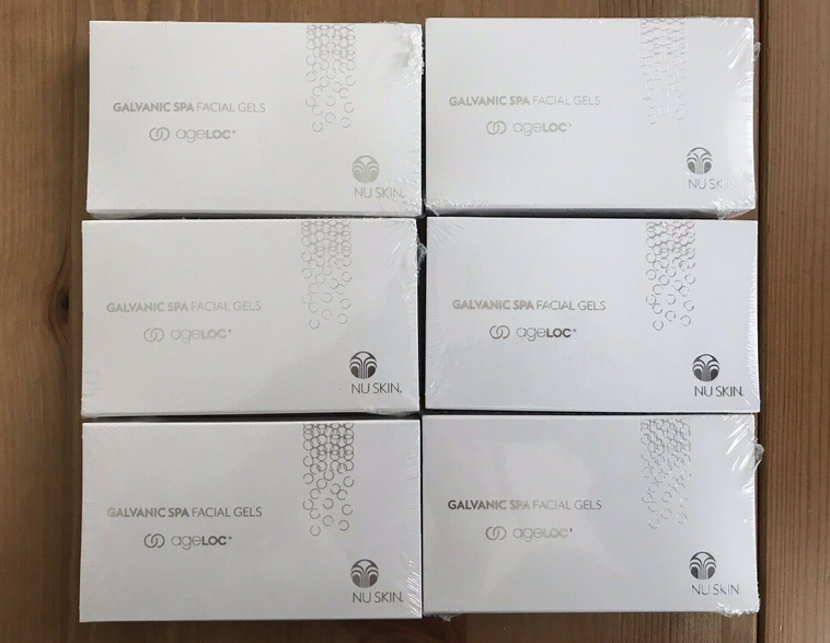 Galvanic Spa System Facial Gels with ageLOC