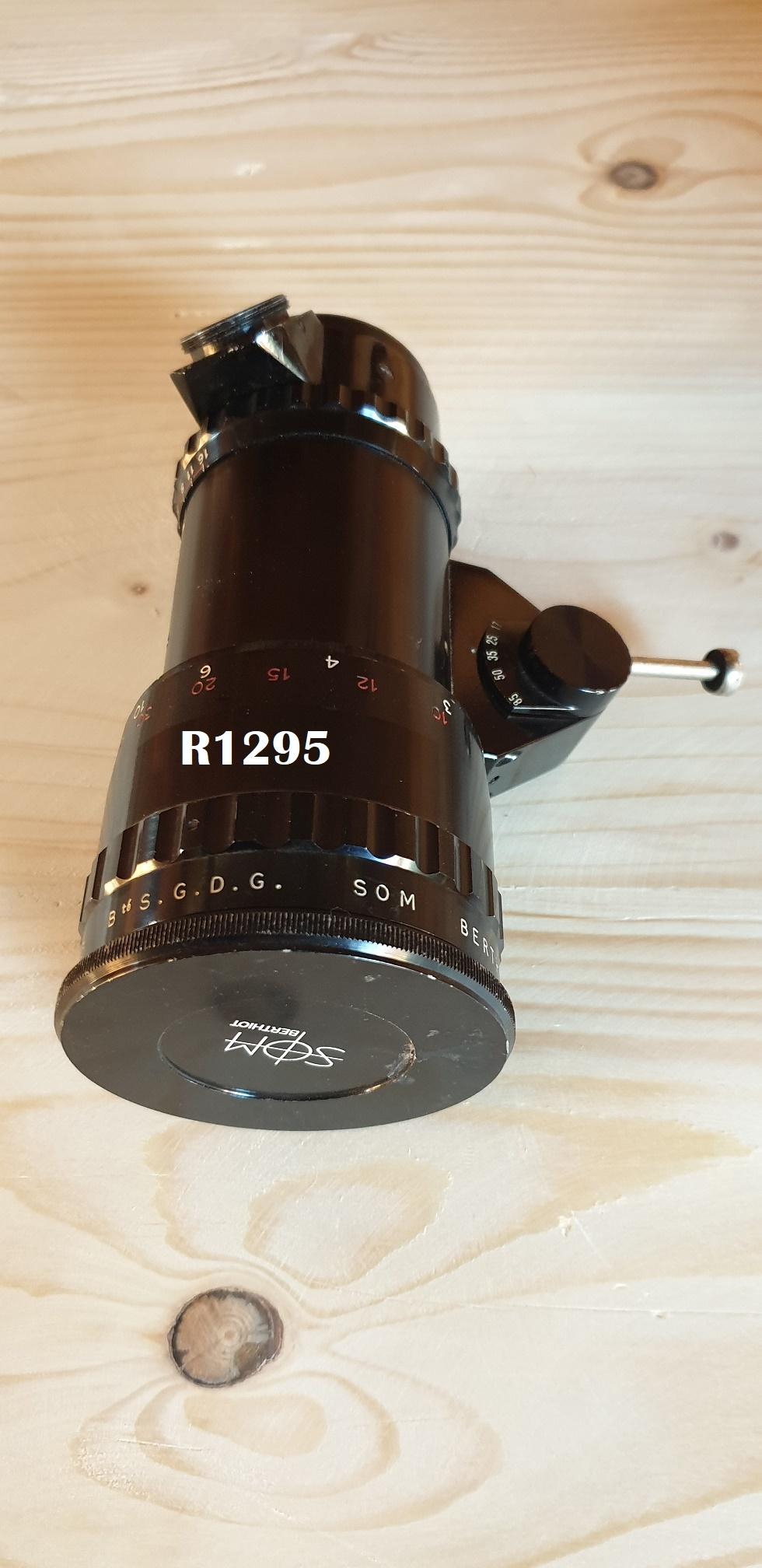 SOM Berthiot Pan- Cinor 1  2  f=17 85mm C-Mount Bolex Movie Camera Lens