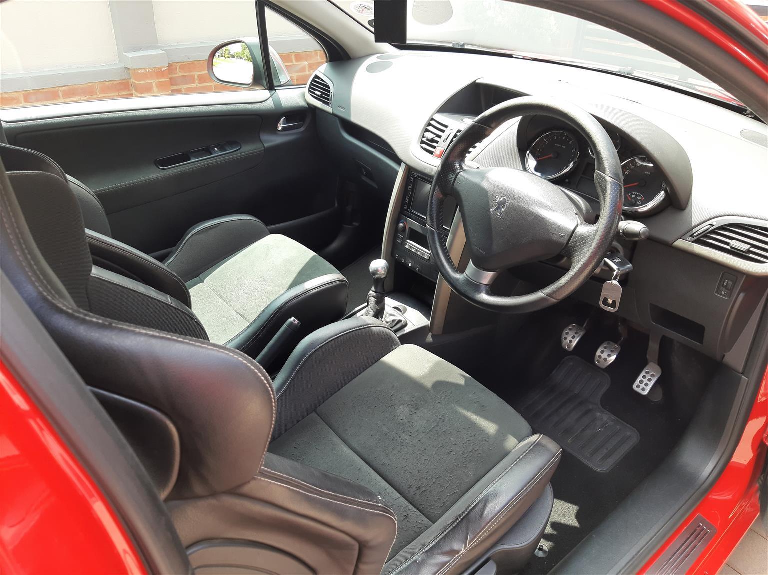 2008 Peugeot 207 1.6 GTi 3 door