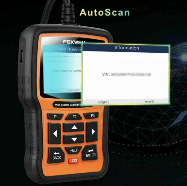 FOXWELL NT510 Elite Full Systems Scanner for VW & Audi Automotive Obd2 Code Reader new.