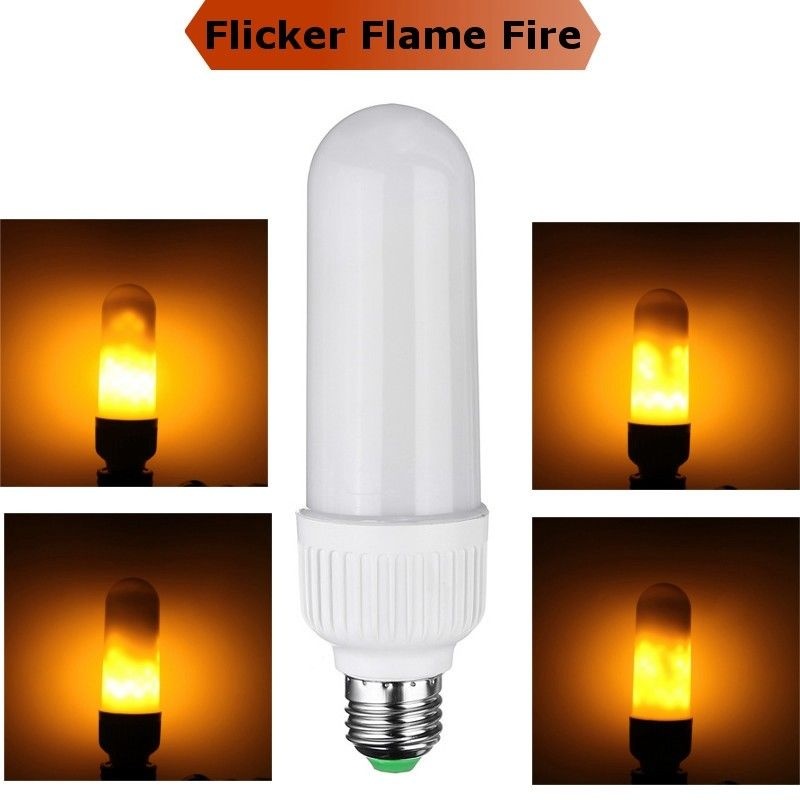 LED Light Bulbs: Flame Flicker Effect Type. Brand New Products.