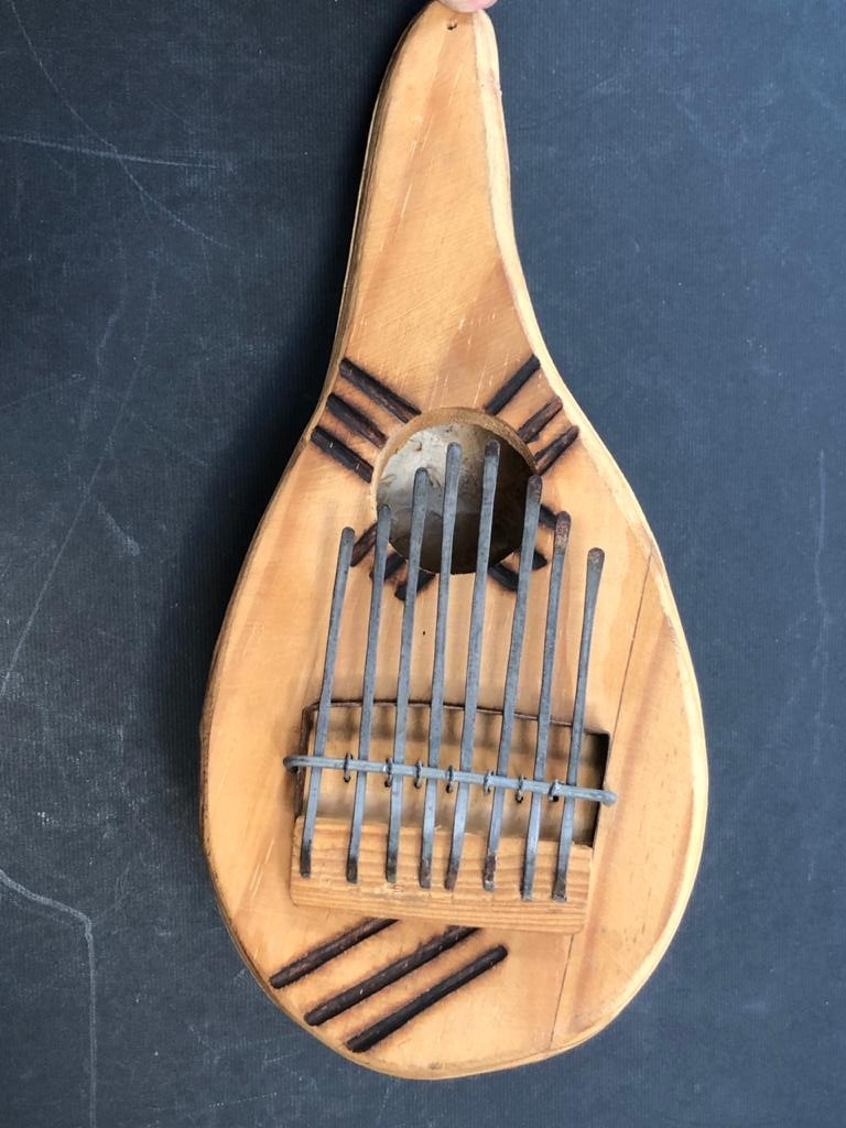Traditional percussion ethnic musical instrument - Mbira