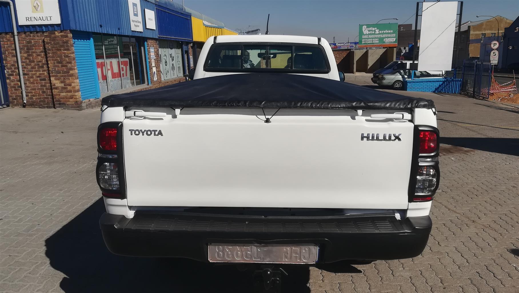 2013 Toyota Hilux 2.5D 4D 4x4 SRX