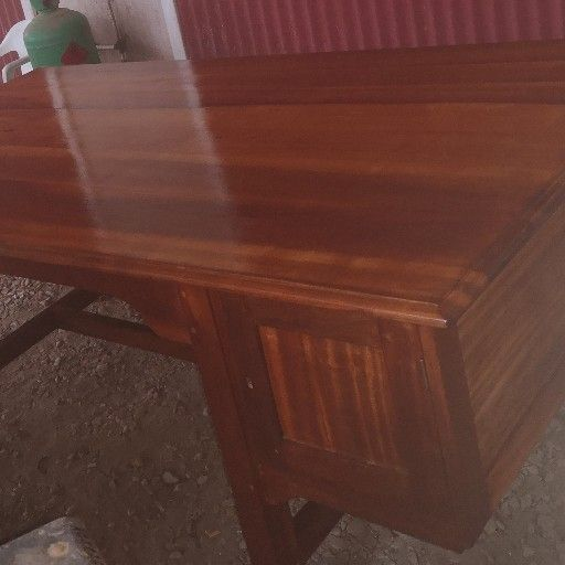 check out b8aed bc8b5 solid wood desk | Junk Mail