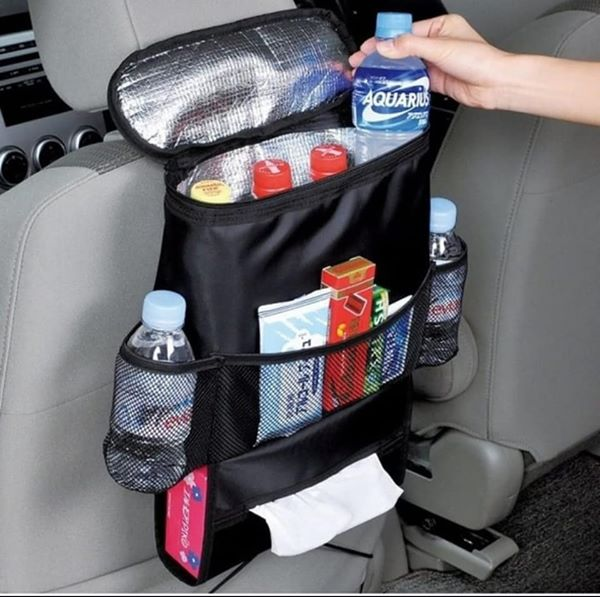 Seat organiser with cooler