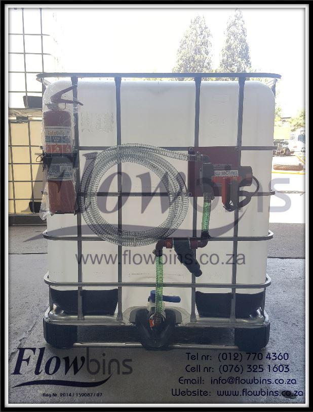 NEW 1000L Diesel / Paraffin Bowsers 12V / 220V - Bakkie Skids / Trailers from R4350