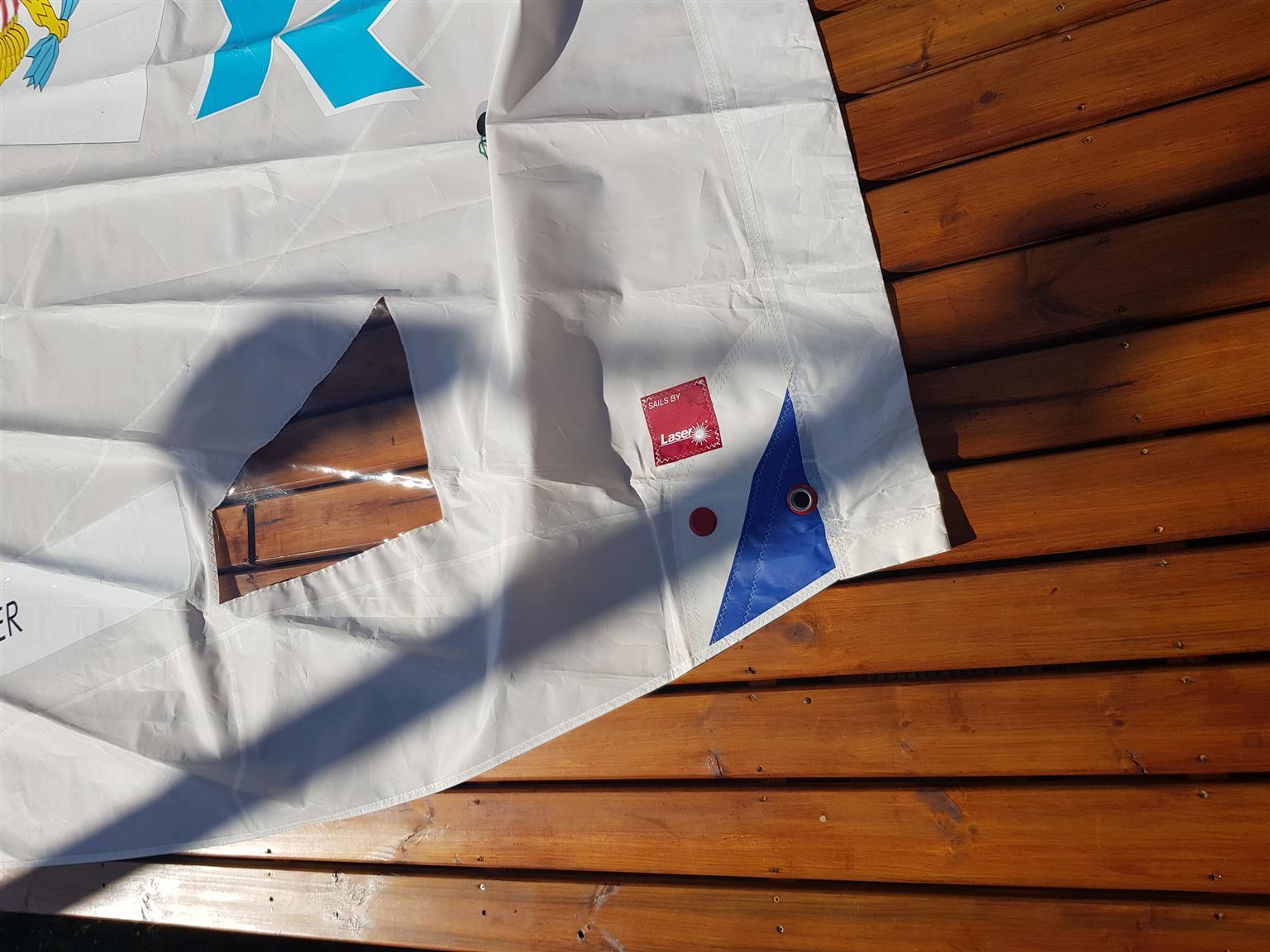 Laser Sail boat Radial Sail