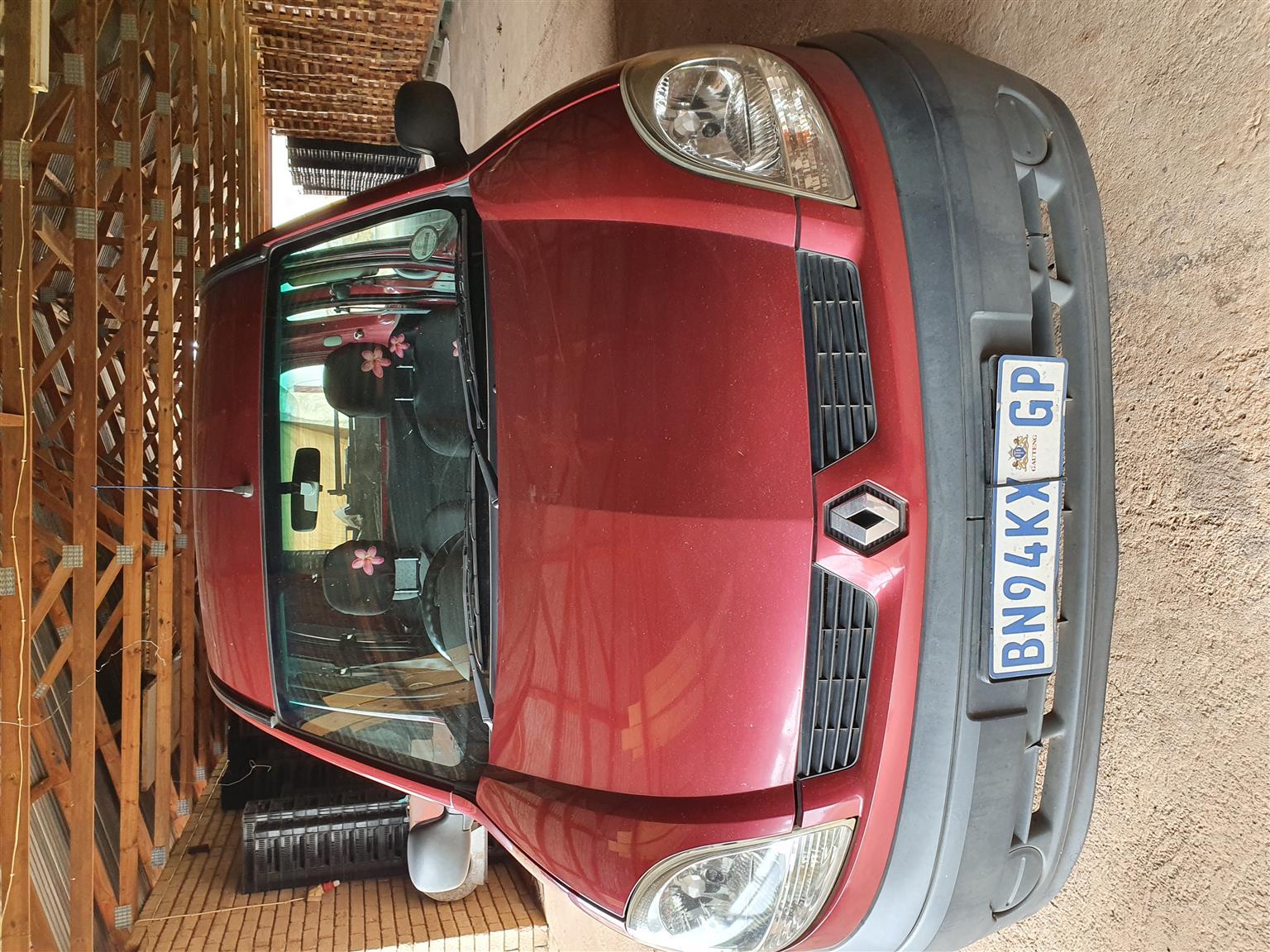 2005 Renault Kangoo Multix 1.4