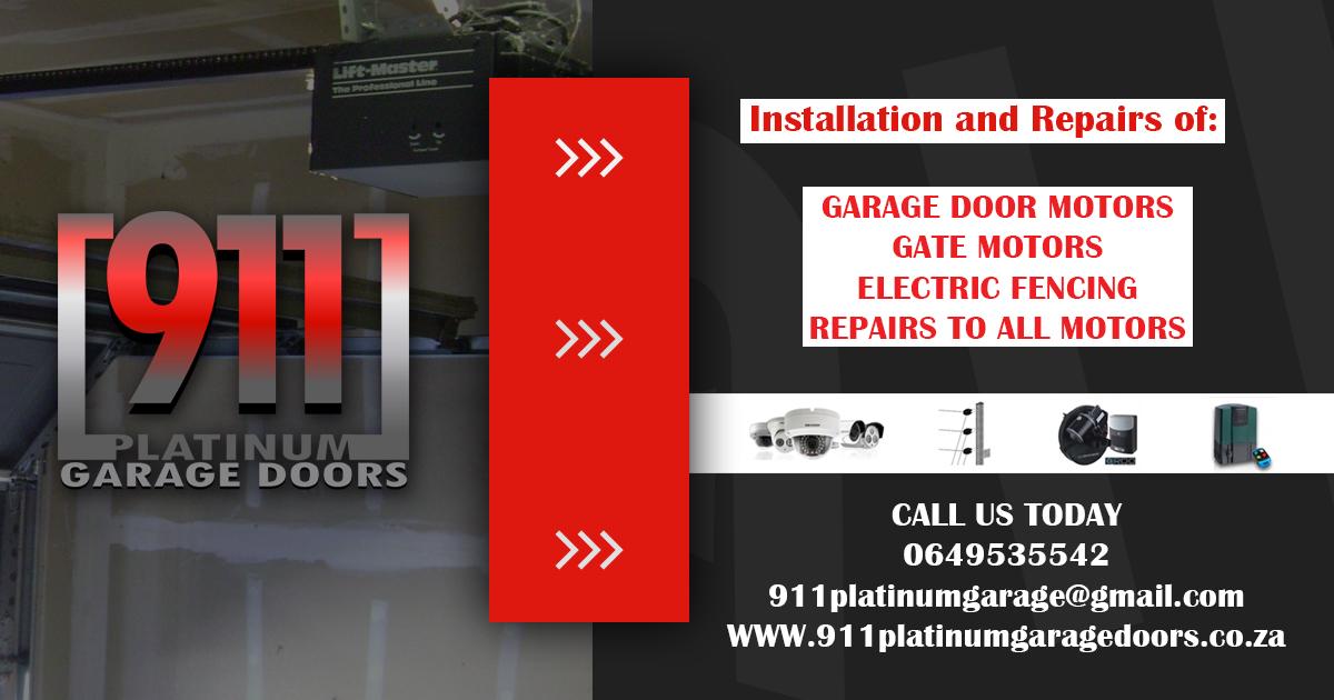 911 Platinum Garage Doors