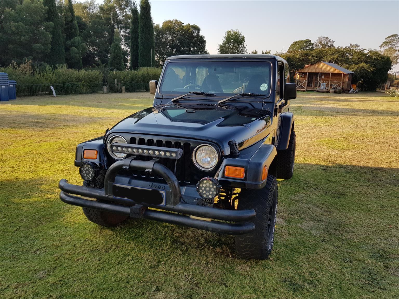 2000 Jeep Wrangler 4.0L Sport