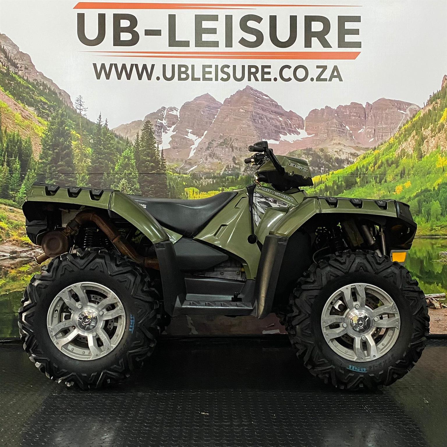 2008 POLARIS XP 850 | UB LEISURE