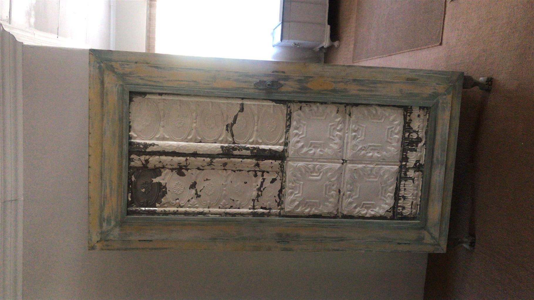 Pressed Ceiling Antique Furniture