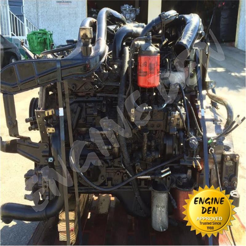 ISUZU 6 CYL DIESEL ENGINE 6HE1 USED ENGINE