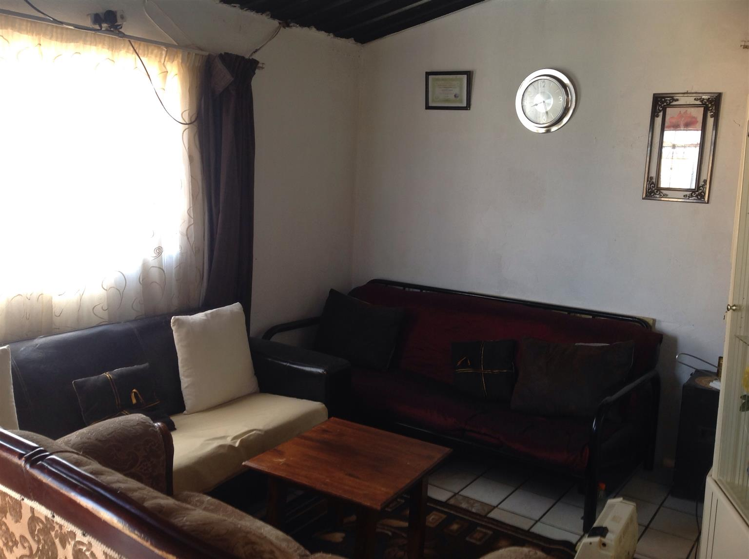 Lovely house for sale at Bramfisher with outside rooms Soweto