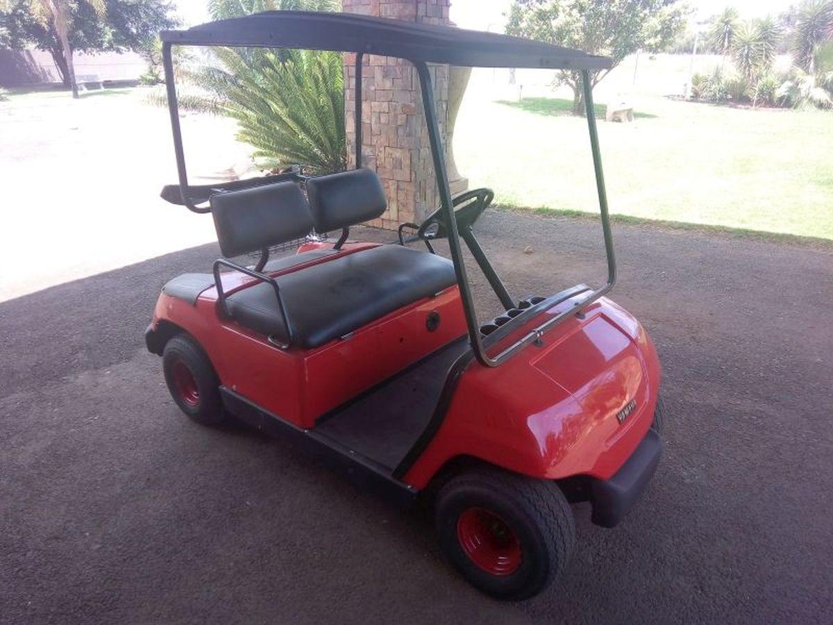 Yamaha Golf cart 48v view at Pretoria