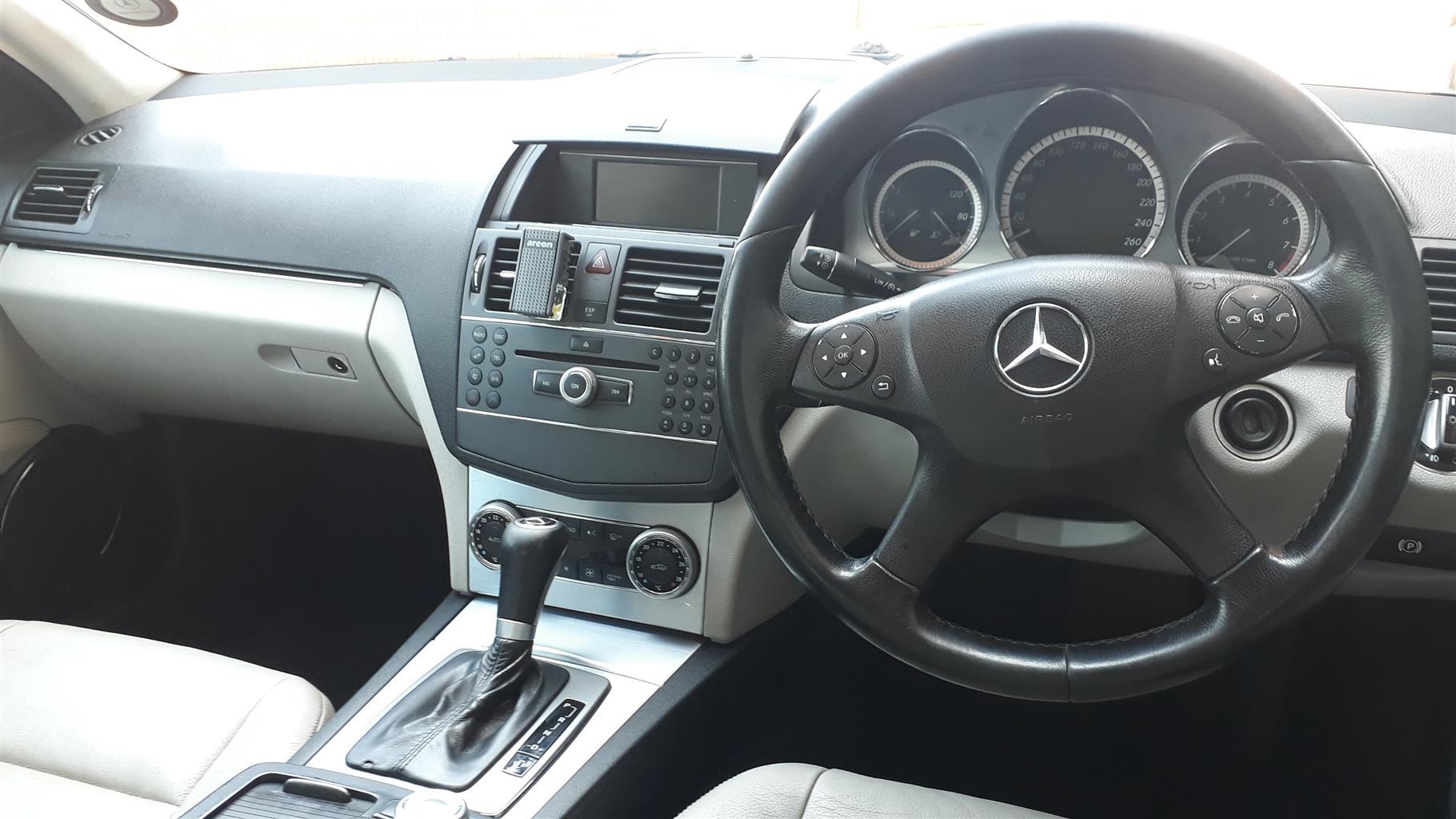 2010 Mercedes Benz C Class C180 Kompressor Avantgarde