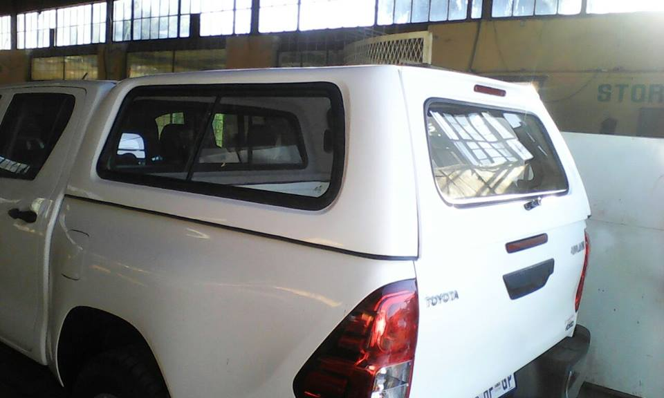 THIS IS OUR BRAND NEW  TOYOTA GD6 LATEST STD DC BAKKIE CANOPY FOR SALE!!!!!!!!!!!!
