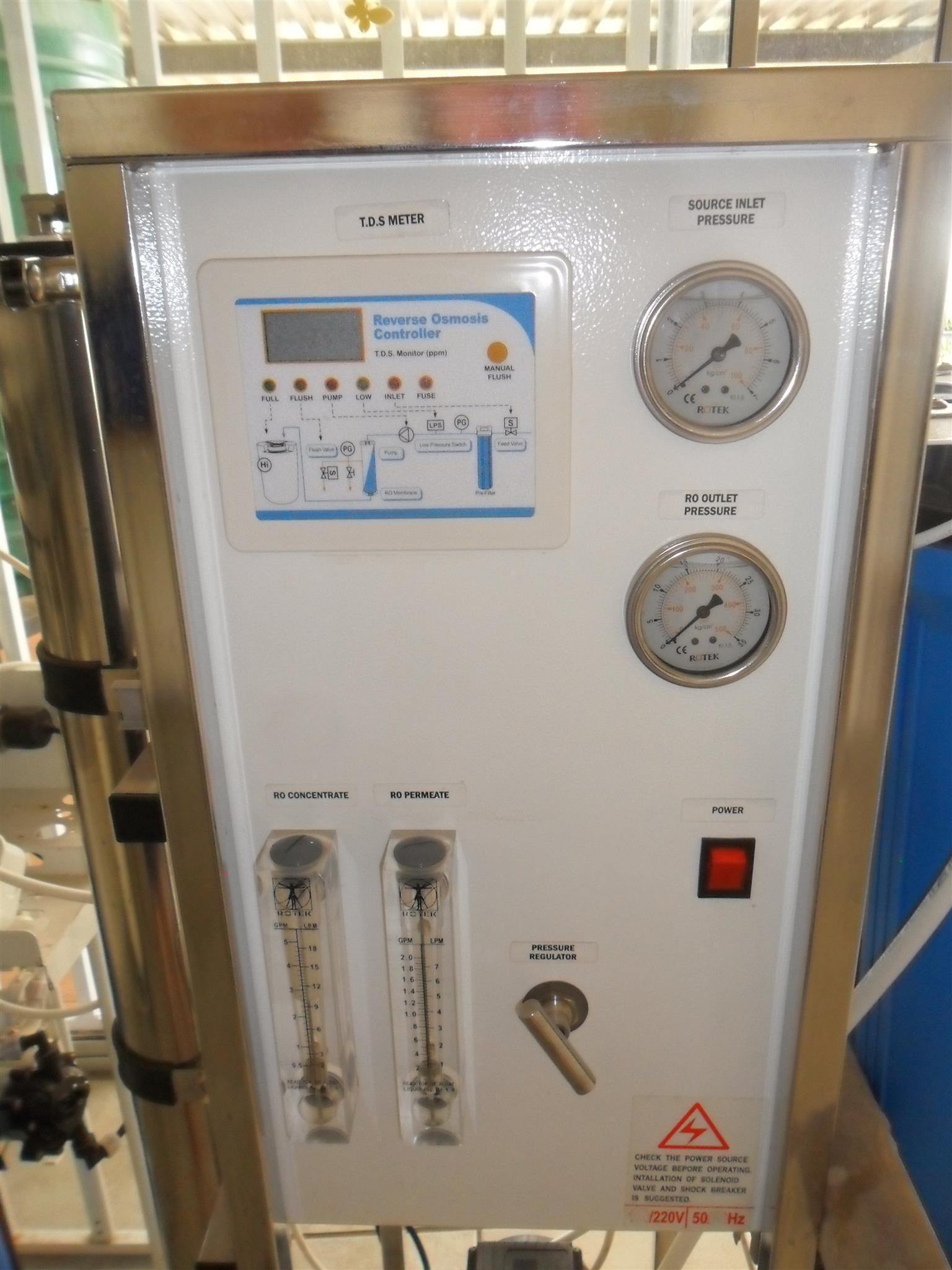 WATER PURIFIER MACHINE