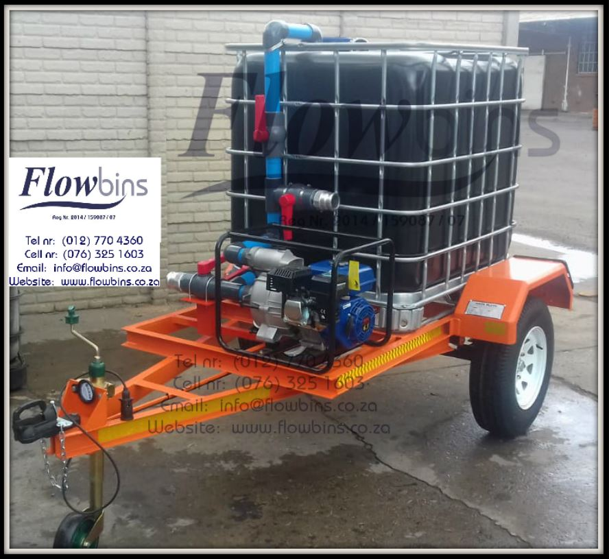 NEW 1000L Honey Sucker / Sewerage Water Units - Bakkie Skids / Trailers from R13790