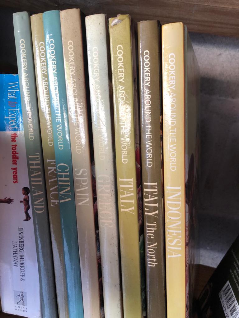 TIME-LIFE Foods of the World SET of Hardback Cookbooks - price per book