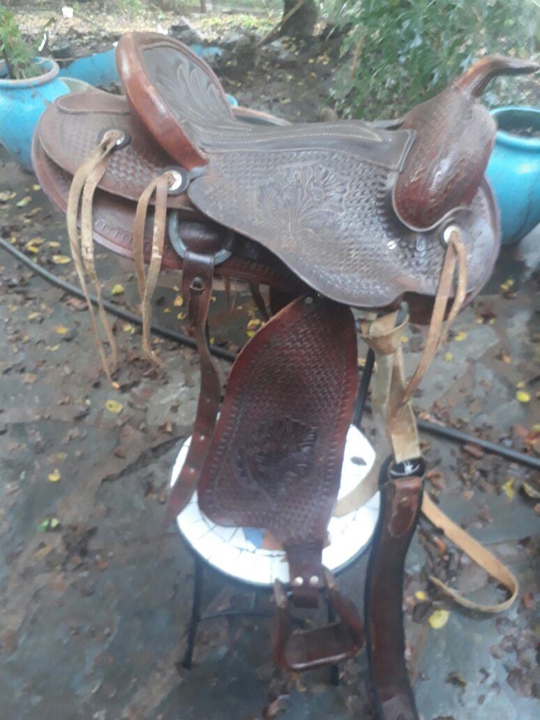 stunning Western saddle