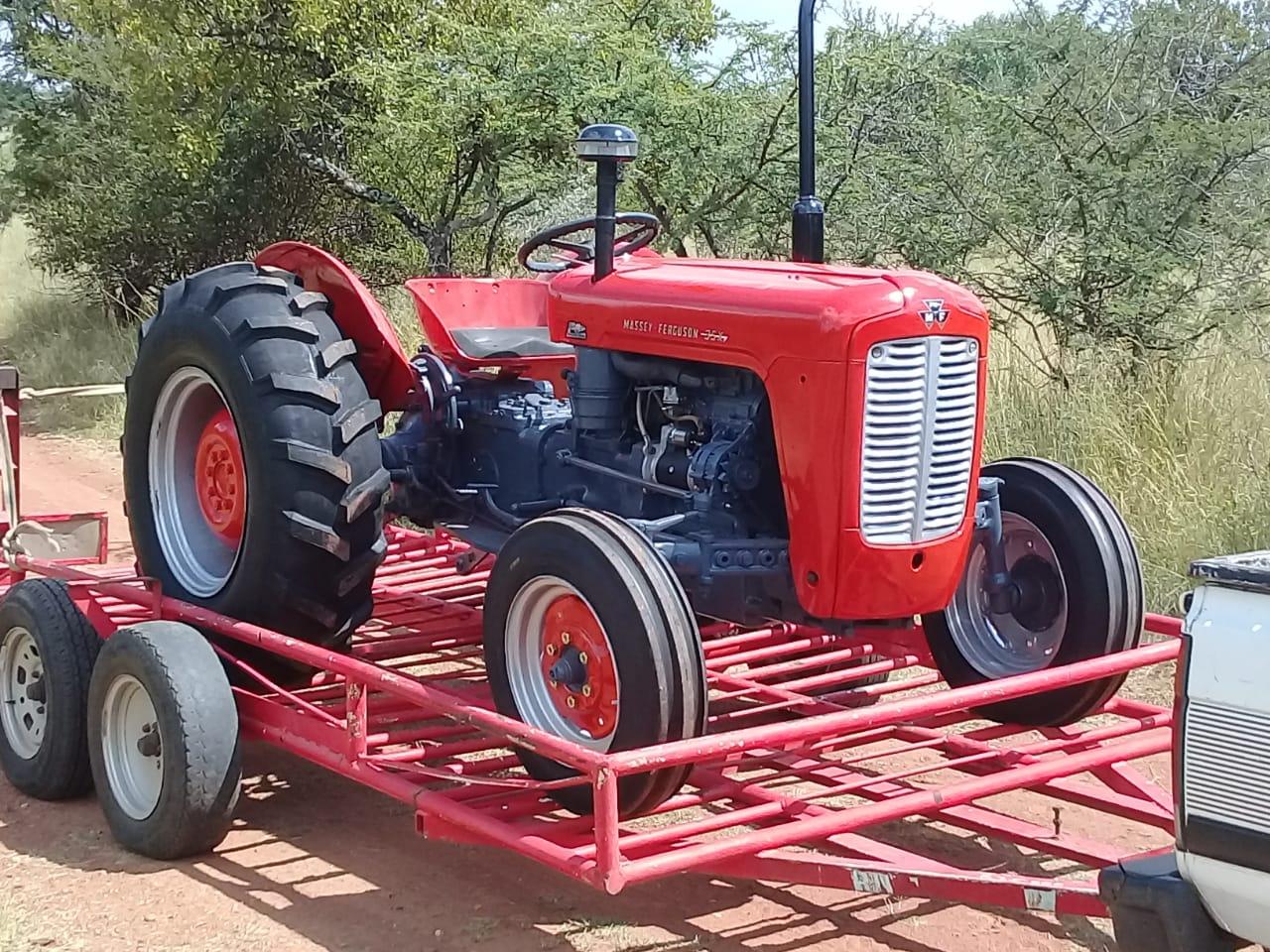 Massey Ferguson (MF) 35x Diesel 44.5Hp / 33.2Kw 4X2 Pre-Owned Tractor
