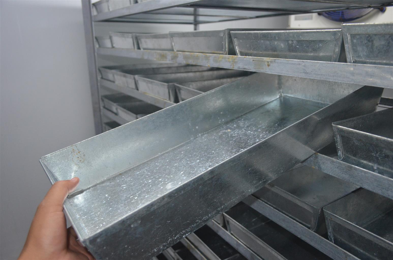 Two Blast freezer trollies to freeze fish