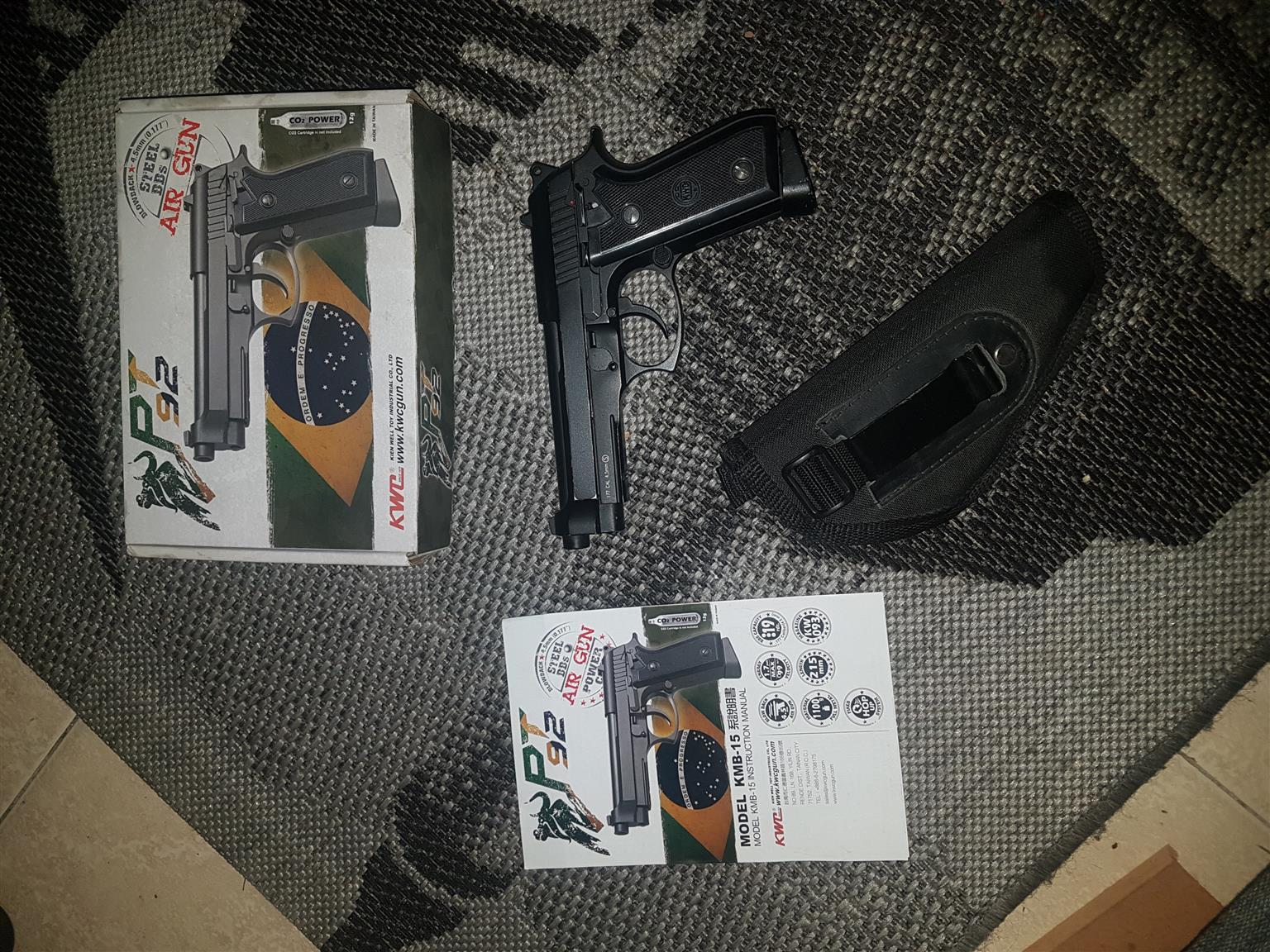 PT92 Beretta Co2 Hand Gun