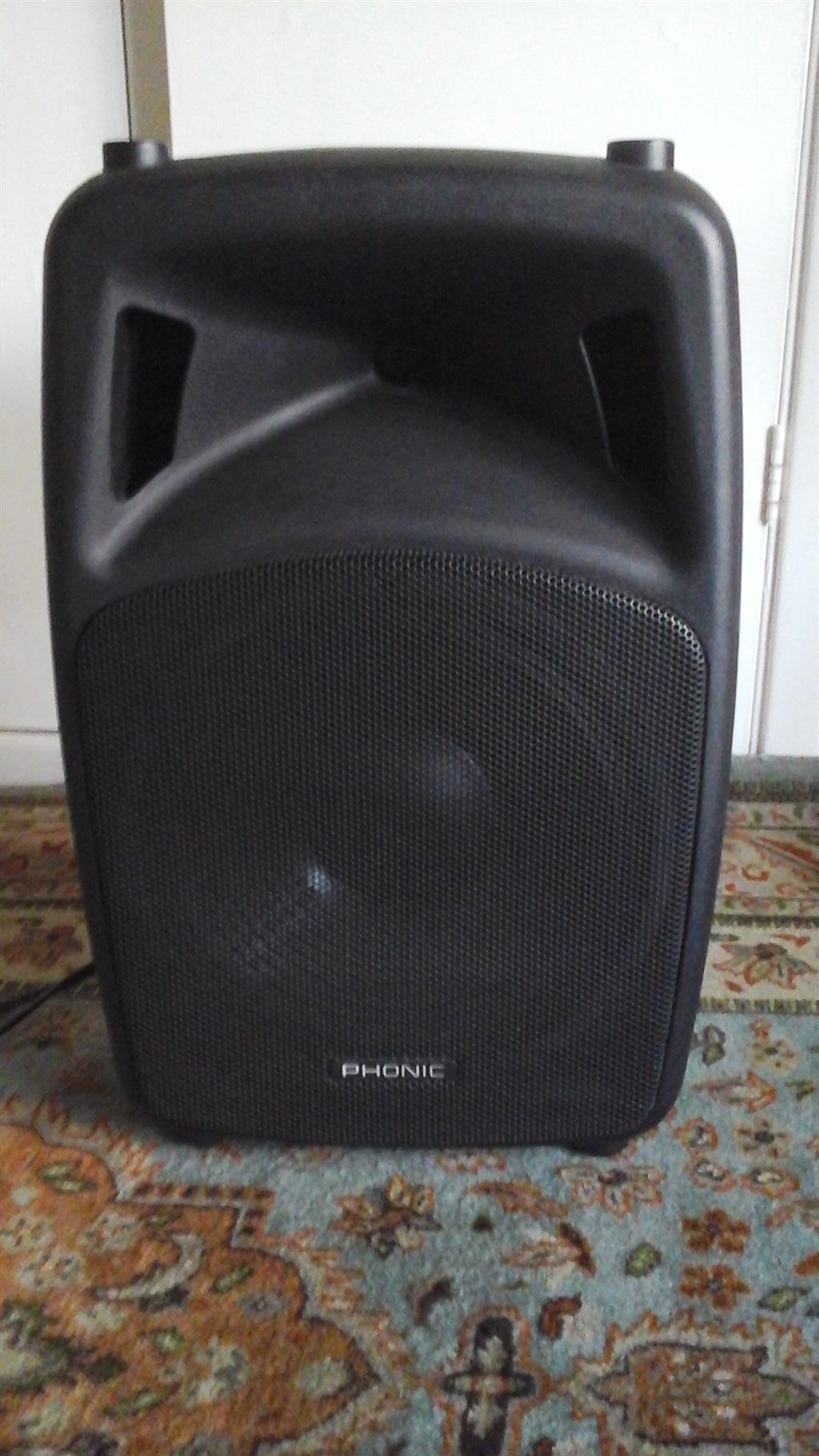 Phonic JUBI Lite 300 watt  speaker power