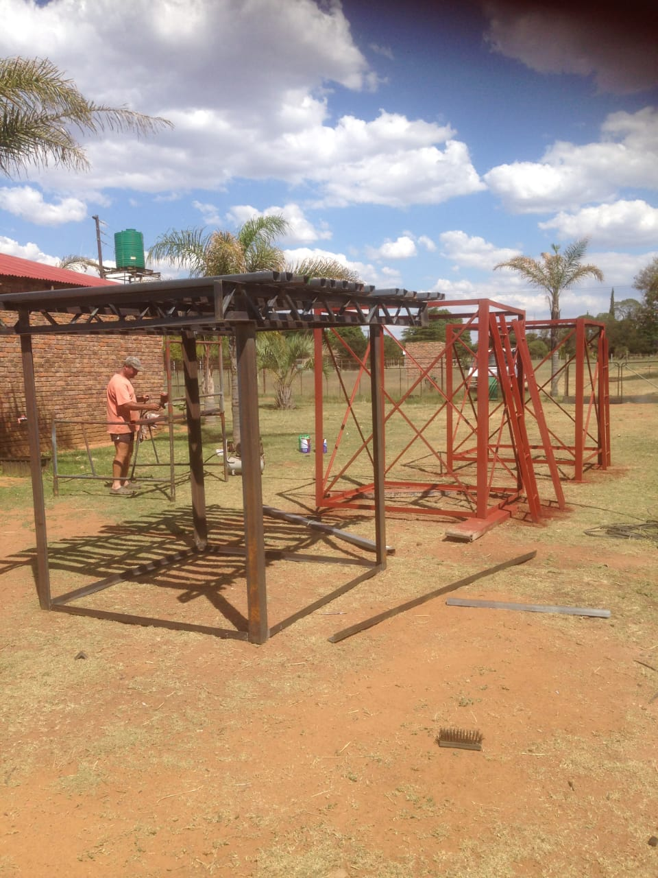 Watertank stands