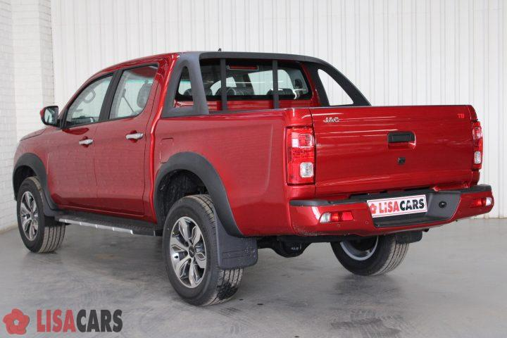 2021 JAC T8 DOUBLE CAB 1.9TDi 4X2 LUX - Manual - DOUBLE CAB - Maroon