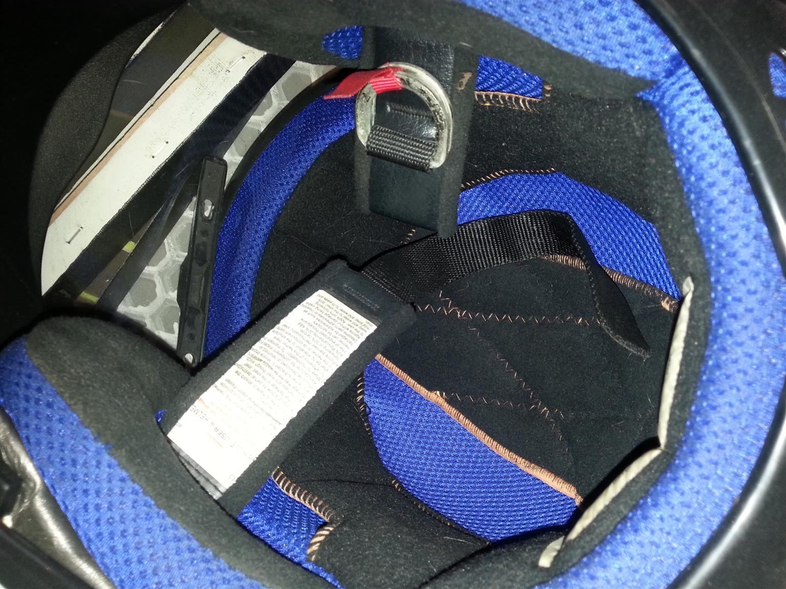 Motorbike Helmet VR1 (x2) R800 ea.