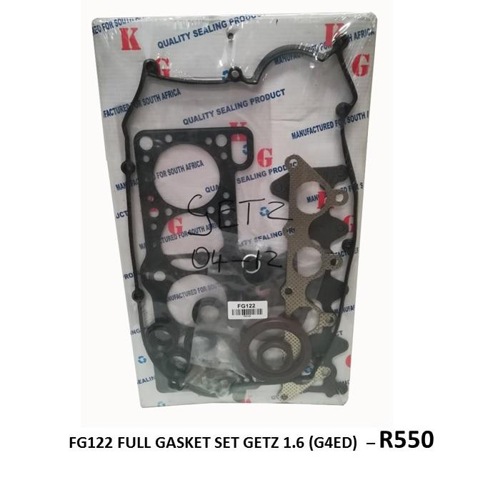 *FULL GASKET SET* FG122 - GETZ 1.6 (G4ED)*