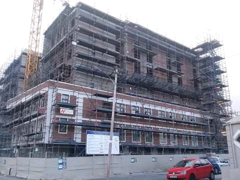 Redber : Scaffolding, Insulation and Painting